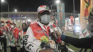 Sekda Provinsi Jambi di acara pembukaan PON XX Papua mewakili Gubernur Jambi (dok. KM)